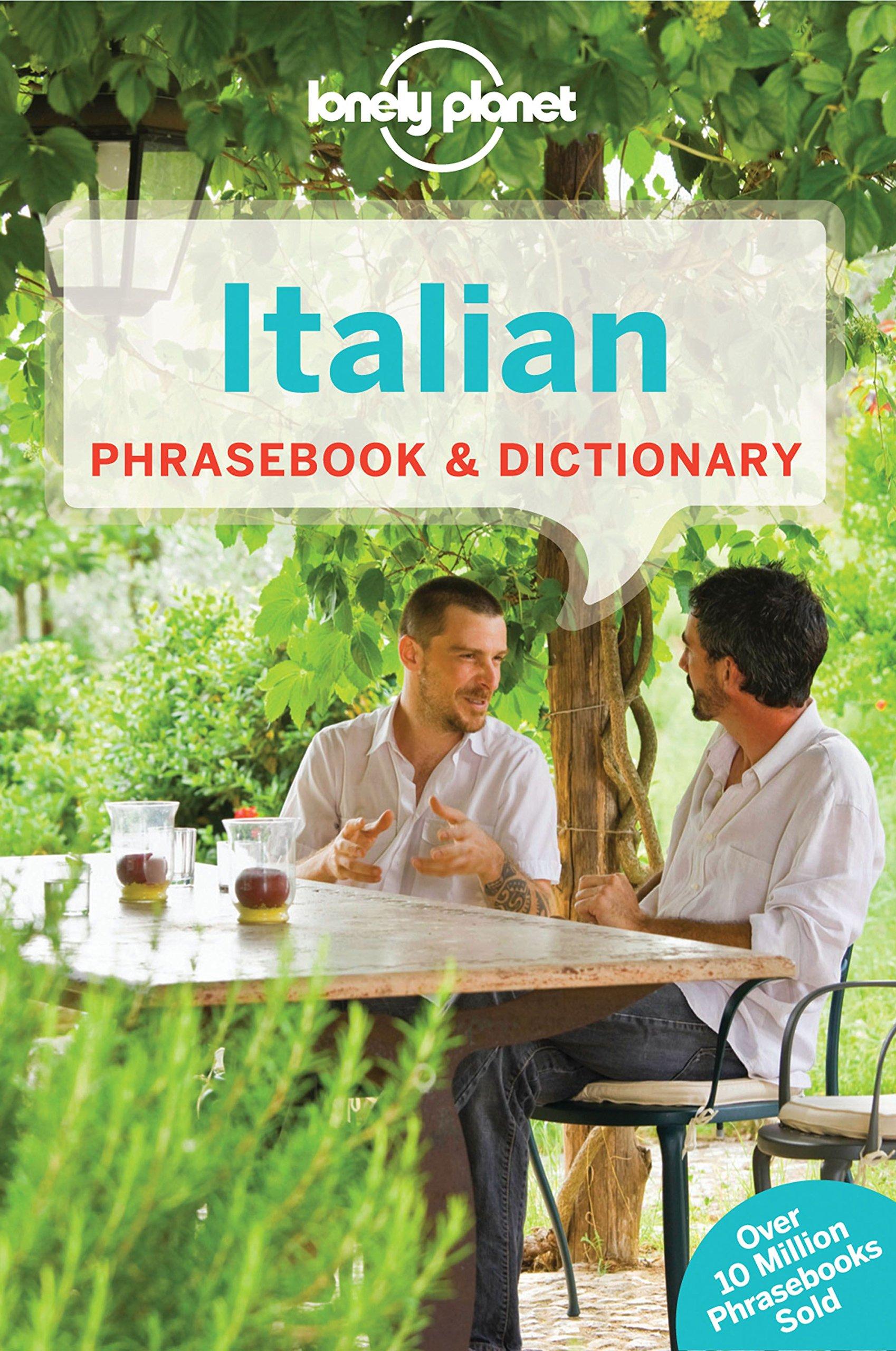 Lonely Planet Italian Phrasebook Dictionary