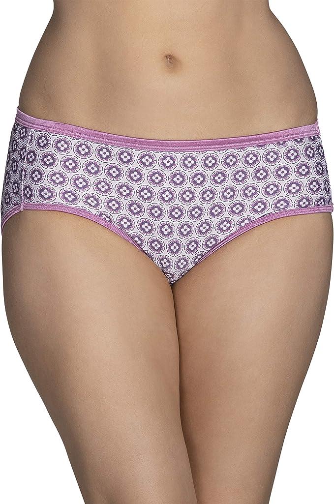 Vanity Fair 18107 Hipster Illumination Panties Sunset Rose NEW Details about  /Size 6 Medium