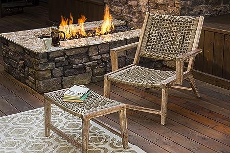 Astounding Sunset Garden Sg65 Sedona Outdoor Chair With Ottoman Real Dailytribune Chair Design For Home Dailytribuneorg