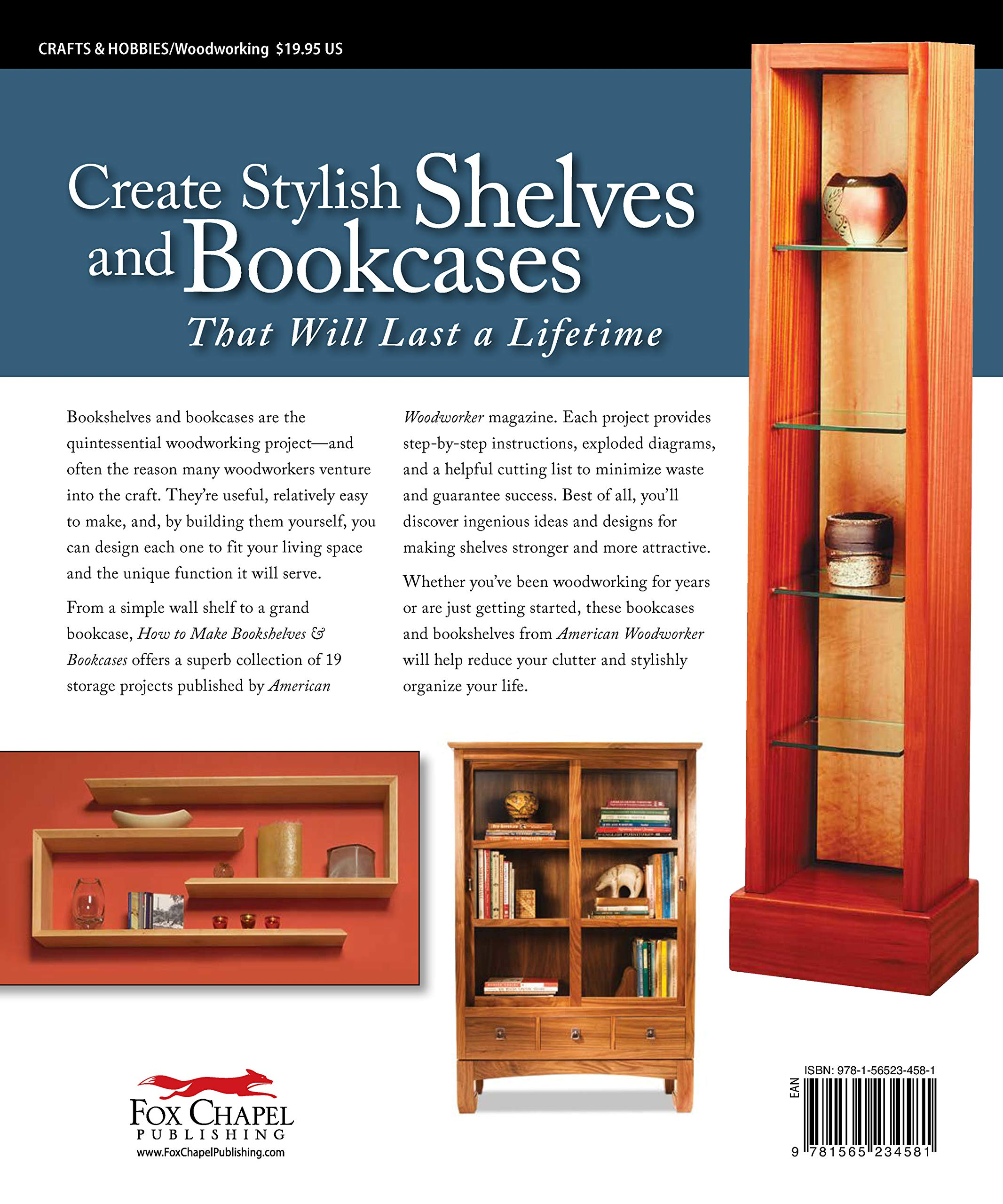 How To Make Bookshelves Bookcases Best Of Aw 19 Outstanding
