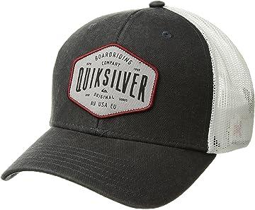 Amazon.com  Quiksilver Waterman Men s Turf Kicker Trucker Snap Back ... 867c73c82d4