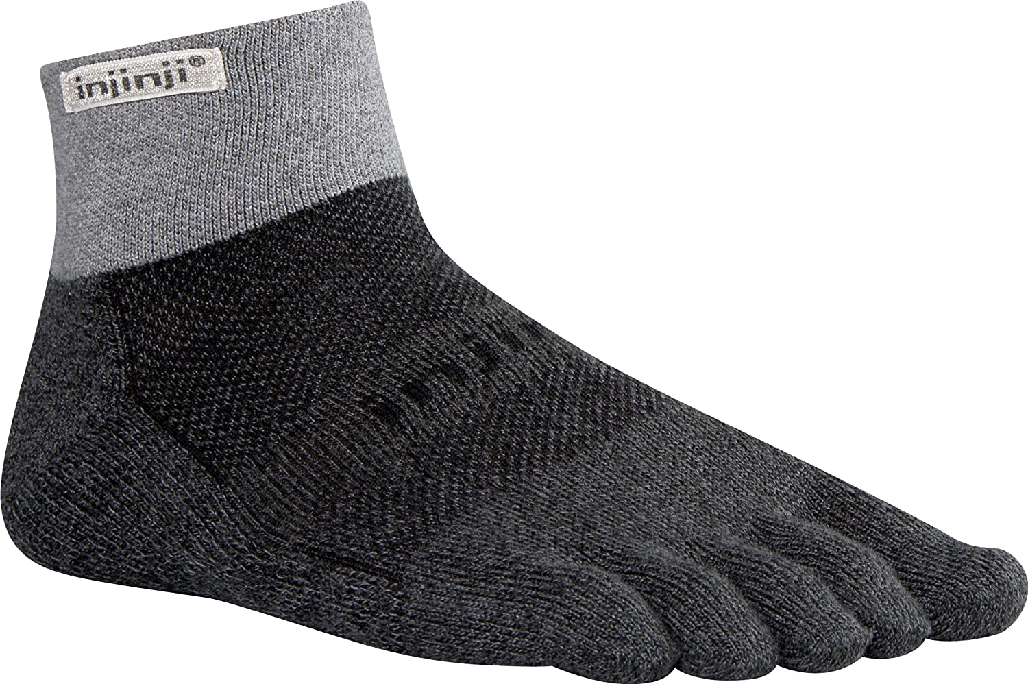 Injinji Trail 2.0 Midweight Mini-Crew Socks