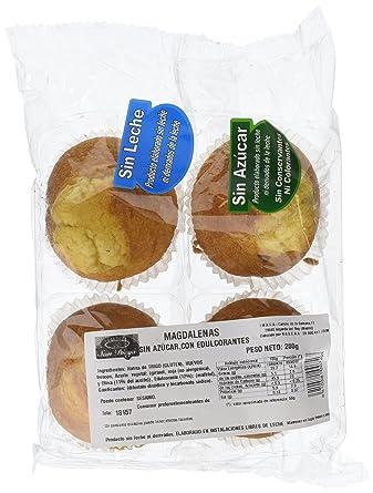 Productos San Diego Magdalenas sin Azúcar - Paquete de 8 x 200 gr - Total: 1600 gr