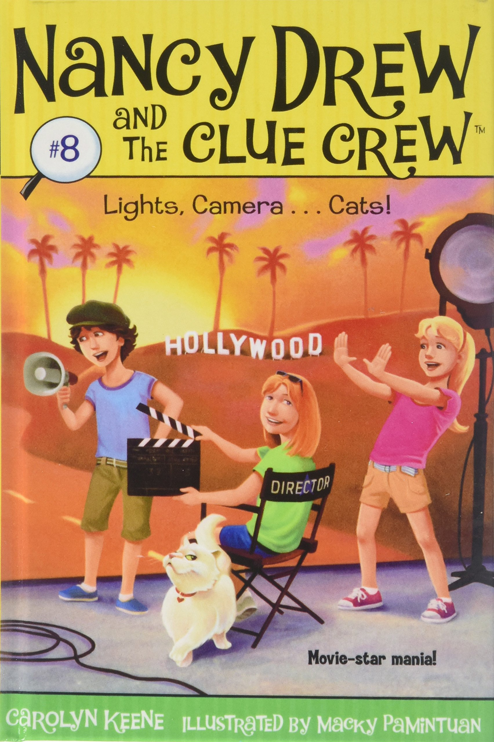 Lights, Camera . . . Cats! (Nancy Drew and the Clue Crew) PDF