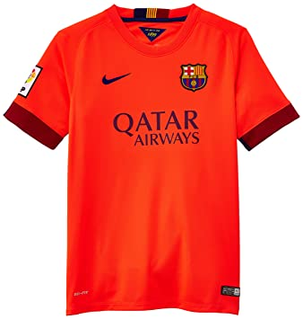 Nike Fcb Away Stadium - Camiseta de fútbol, color rojo, talla M
