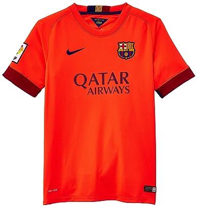 3ed1e4c7016 Nike 2014-2015 Barcelona Away Shirt (Kids): Amazon.co.uk: Clothing