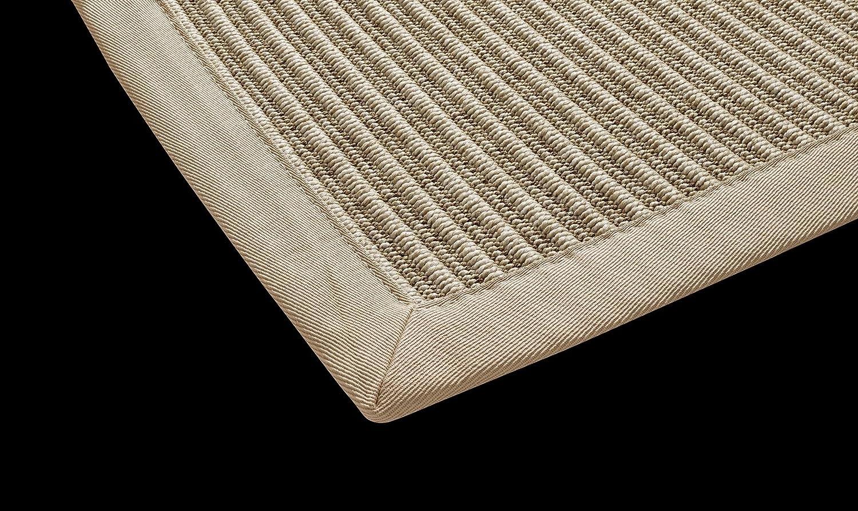 In- & Outdoor Teppich Küchen Teppich Esszimmer Naturino Tweed von DEKOWE Speisezimmer,Terrasse,Küche,Sisal,Sisal Optik,natur (80 x 250 cm, 001 natur)