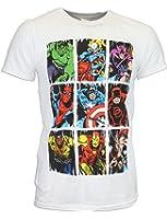 Marvel Mens Marvel Comics T-shirt Small to X-Large