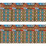 SUPER7 8-Shot Plastic Ring Capsules 8 Sheet (Multicolour)