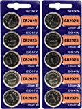 Sony CR2025 Lithium Battery (10 Pack)