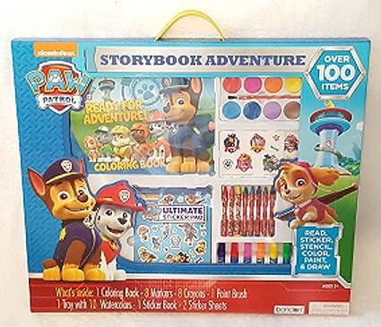 Amazon Nickelodeon Paw Patrol Storybook Adventure Activity Kit Toys Games