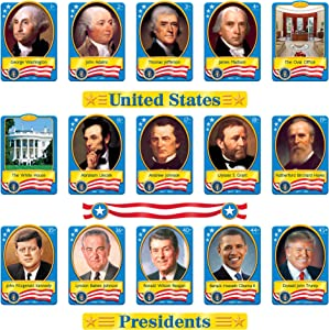 TREND enterprises, Inc. T-8065 U.S. Presidents Bulletin Board Set