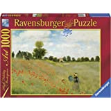 Ravensburger 15628 Puzzle 1000 Pieces Poppy Field by Monet