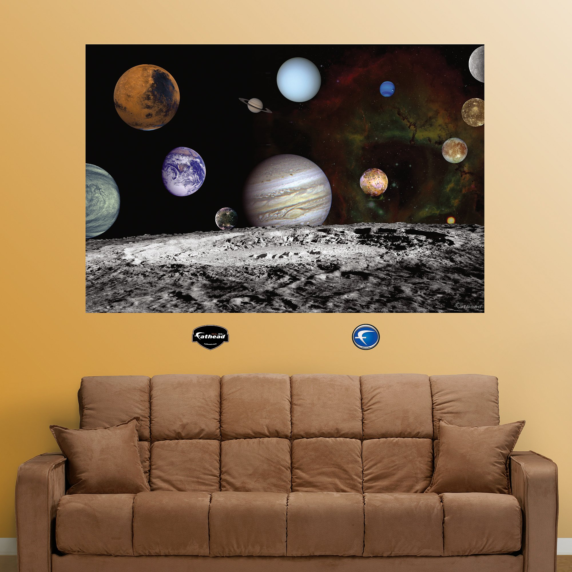 FATHEAD The Solar System Artist Concept Graphic Wall Décor