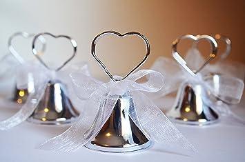 N.20 campanelle campanella tirabaci bomboniera segnaposto matrimonio  segnatavola campanella campana  Amazon.it  Giochi e giocattoli 10b3a94be5a9