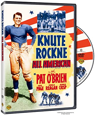 knute rockne all american classic movies on the radio