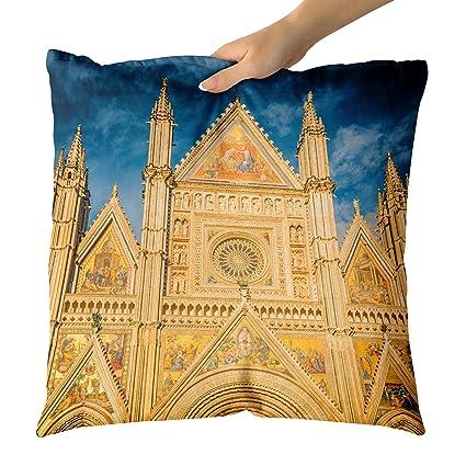 Amazon.com: Westlake Art Sky Landmark - Decorative Throw Pillow ...