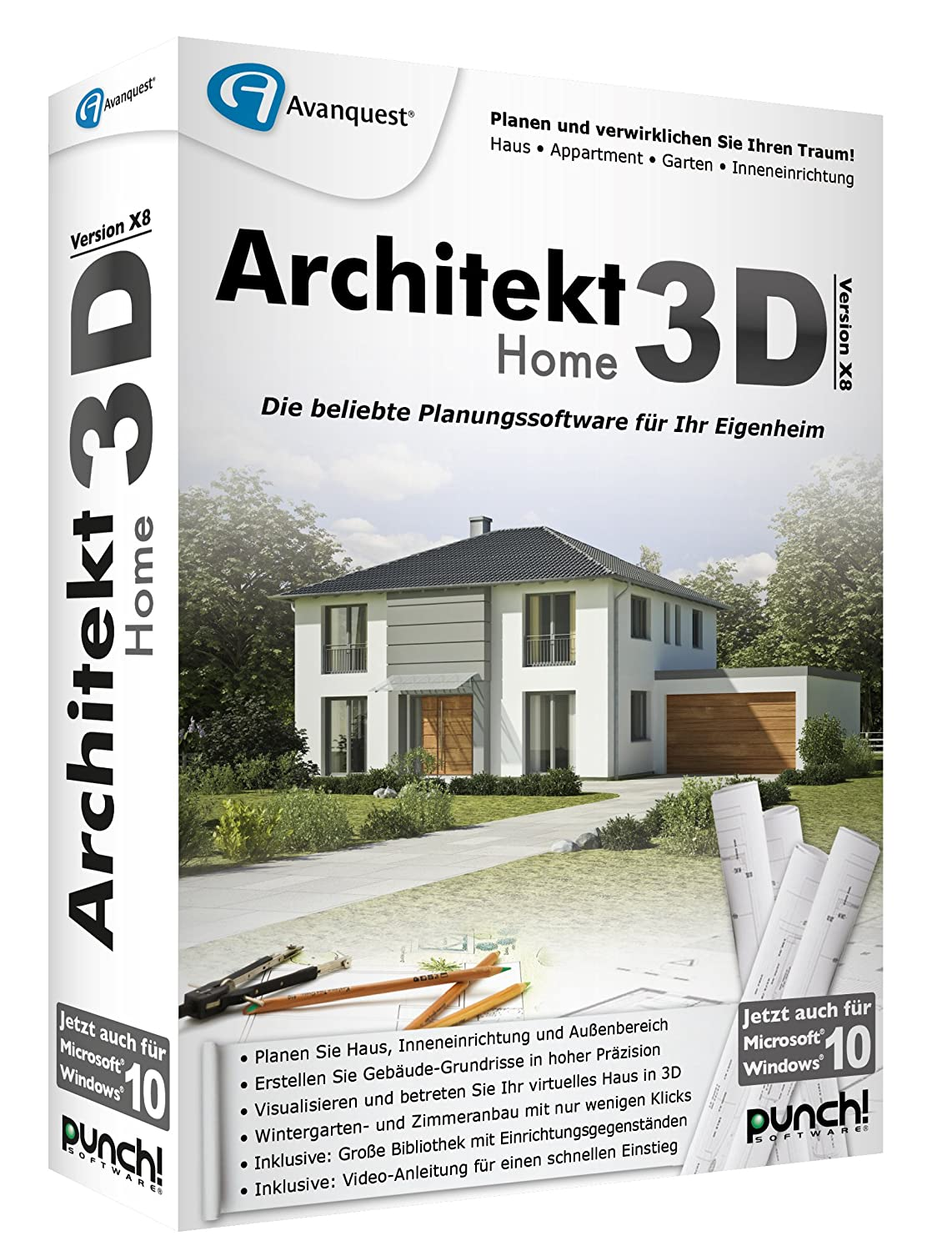 Architekt 3D X8 Home: Amazon.de: Software