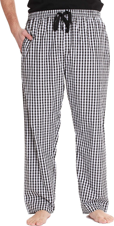 #followme Plaid Herren Schlafanzughose PJ Hose f/ür Schlaf und Loungekleidung