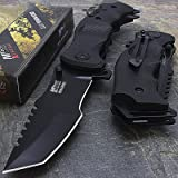"""9"""" M-Tech G10 Tracker Spring Assisted Open Folding Pocket Outdor Knife Tactical Rescue Combat"""