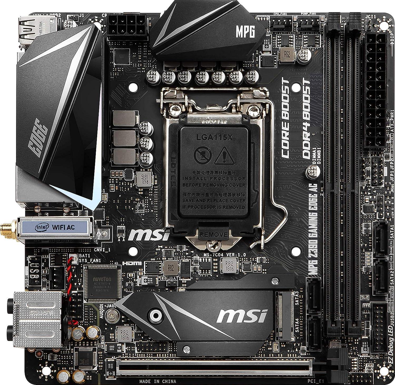 MSI MPG Z390M GAMING EDGE AC LGA 1151 300 Series Intel Z390 Intel Motherboard