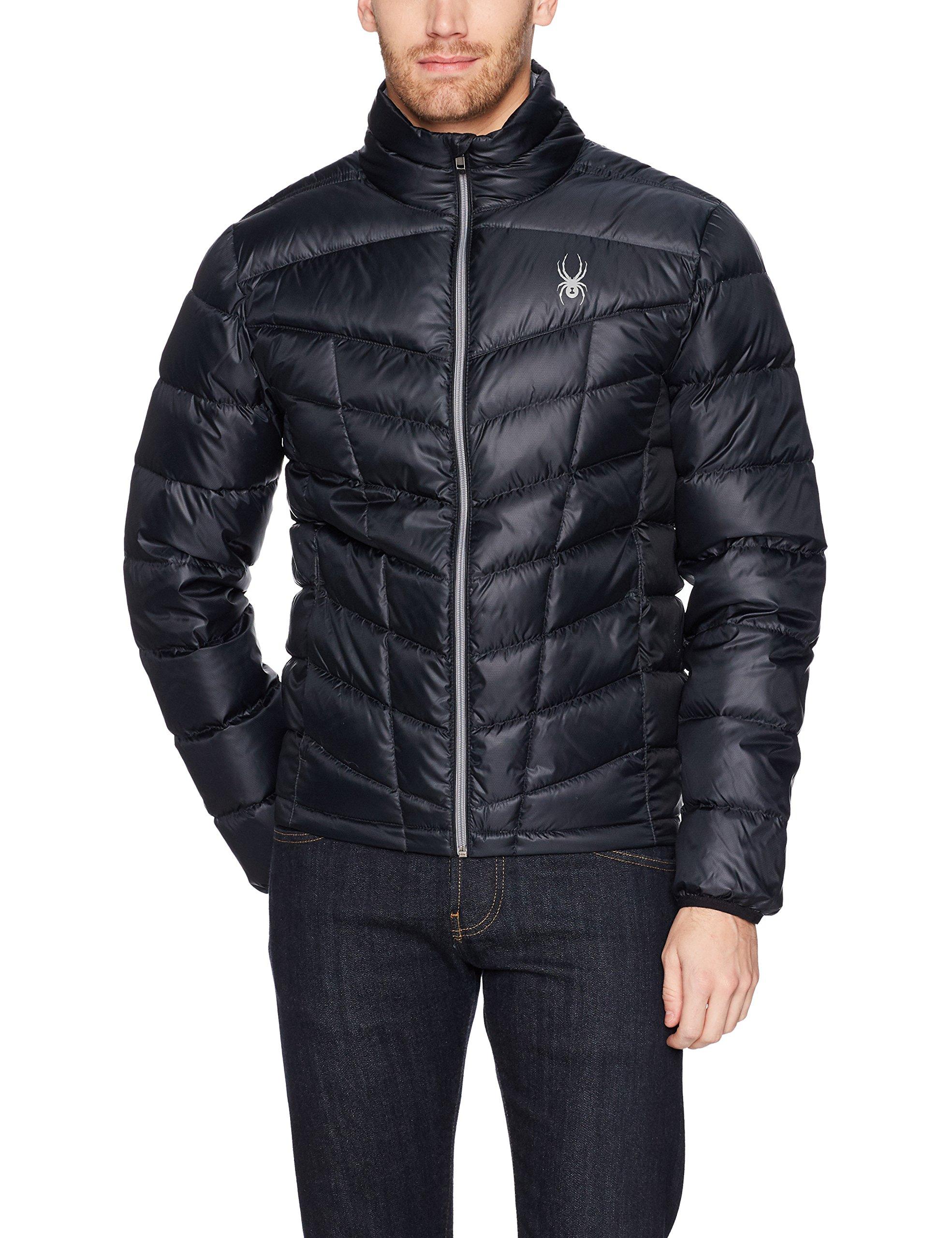 Spyder Pelmo Down Jacket, Black, X-Large