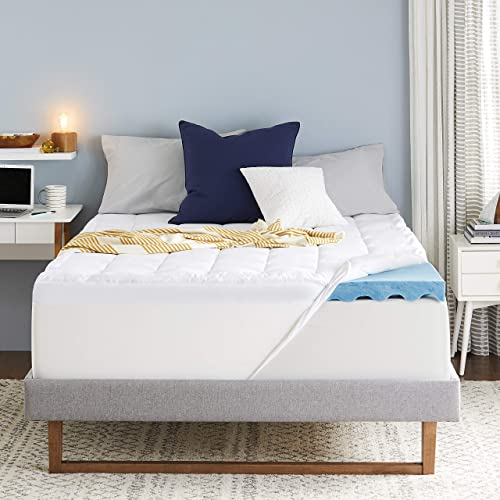 Sleep Innovations 4 inch mattress topper