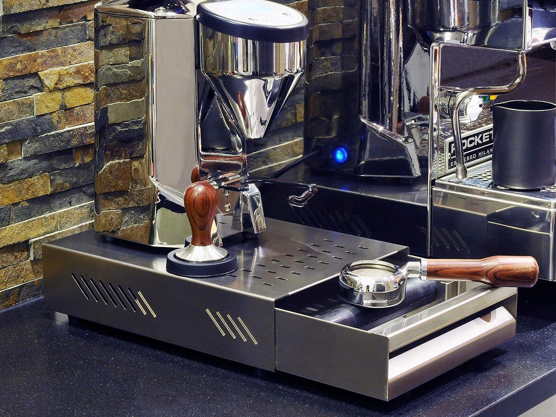 Sudschublade »Professionale« für Kaffeesatz aus Edelstahl