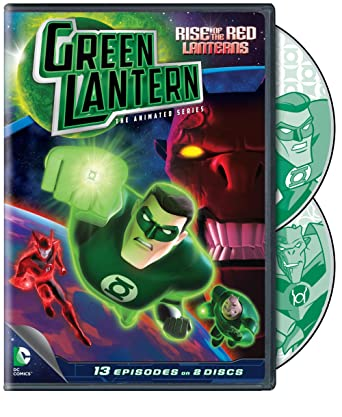 Amazoncom Green Lantern Rise Of The Red Lanterns The Animated