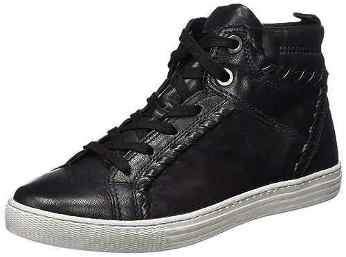 Gabor Shoes Comfort Basic, Zapatos de Cordones Derby para Mujer, Negro (Schwarz), 35.5 EU