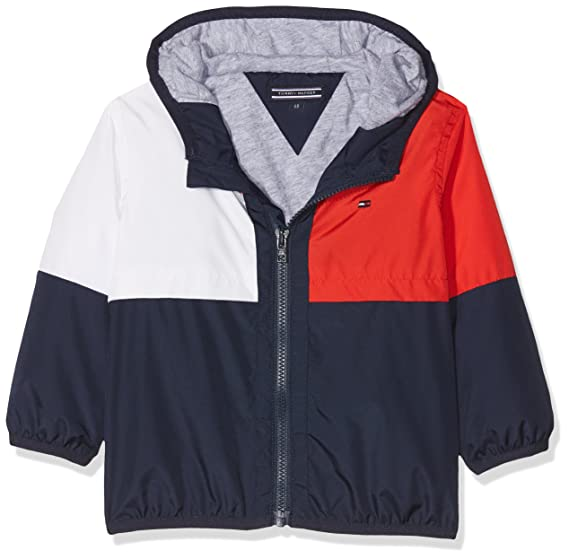 Tommy Hilfiger Peppy Color Block Jacket, Chaqueta para Bebés: Amazon.es: Ropa y accesorios