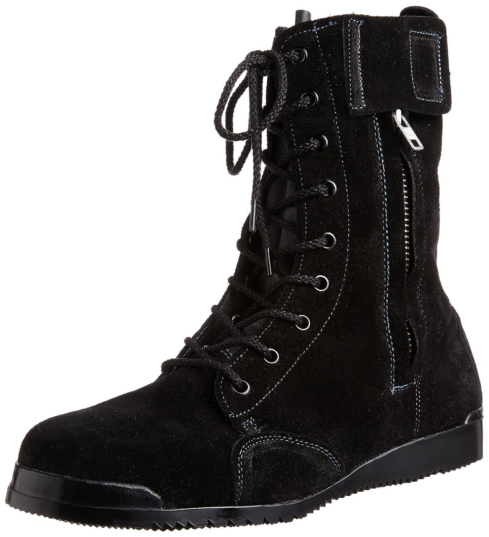 [ノサックス] Nosacks 高所用安全靴  みやじま鳶床革 B00JQUDYIA 25.0 cm|ブラック ブラック 25.0 cm