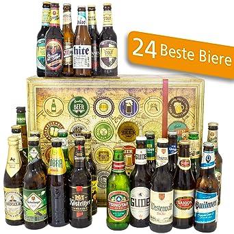 24x Biere Deutschland Und Welt Bier Geschenkset Mannertag