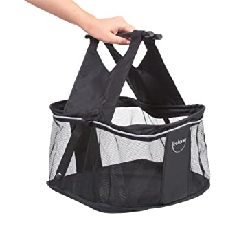 Teutonia Elegance - Cesta de la compra para carrito de bebé Elegance, color negro: Amazon.es: Bebé