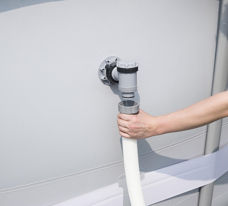 Bestway Filterkartuschen Flowclear Gr.II Filter f/ür Poolpumpen 2-er Set 58094 /Ø10,6cm x 13,6cm