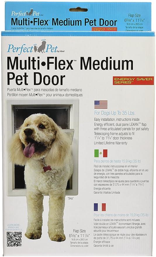 Perfect Pet 10 14 Inch By 15 34 Inch Multi Flex Pet Door Flap X