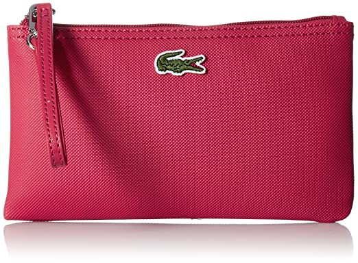 fd8a0b952e Lacoste L.12.12 Concept Clutch, 185 Virtual Pink: Handbags: Amazon.com