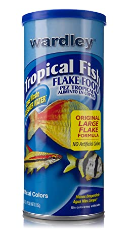 Amazon.com : Wardley Tropical Fish Food Flakes - 3oz : Pet Food : Pet Supplies