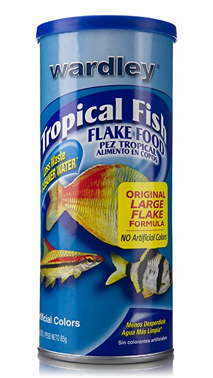 Wardley Tropical Fish Food Flakes - 3oz
