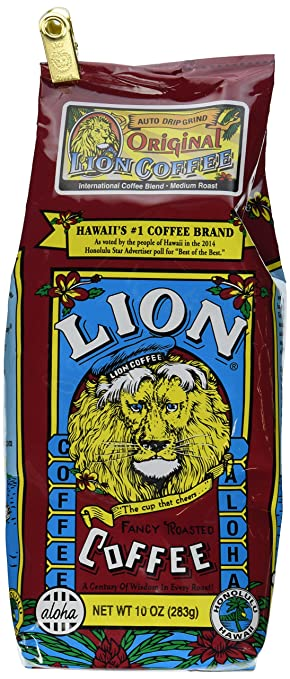 Lion Coffee Lion Original 10 oz grind