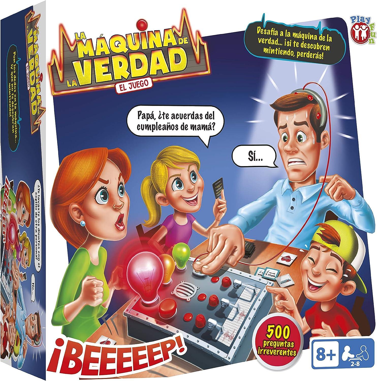 Juego de Mesa Familiar y para Niños La Máquina de la Verdad de Play Fun - IMC Toys