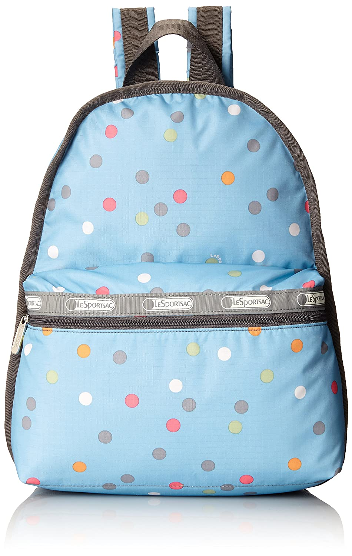 [レスポートサック] リュック (Basic Backpack),軽量 7812 [並行輸入品] B00Q6GUSA4 Litho Dot Blue print Litho Dot Blue print