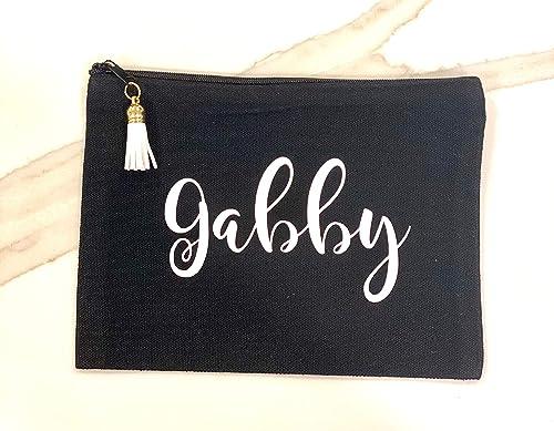 Personalized Pencil Case  Accessory Bag  Pencil Pouch