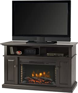 "Muskoka Delaney 48"" Media Fireplace - Rustic Brown"