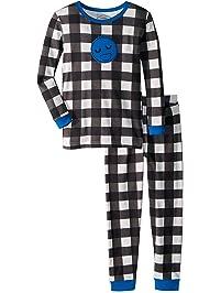 118bc54fb2 Lamaze Boys  Toddler Organic 2 Piece Longsleeve Tight Fit Pajamas Set