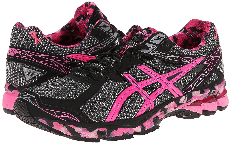 Amazon.com   ASICS Men's GT-1000 3 PR Running Shoe, Black/Hot Pink/Pink  Ribbon, 17 M US   Road Running