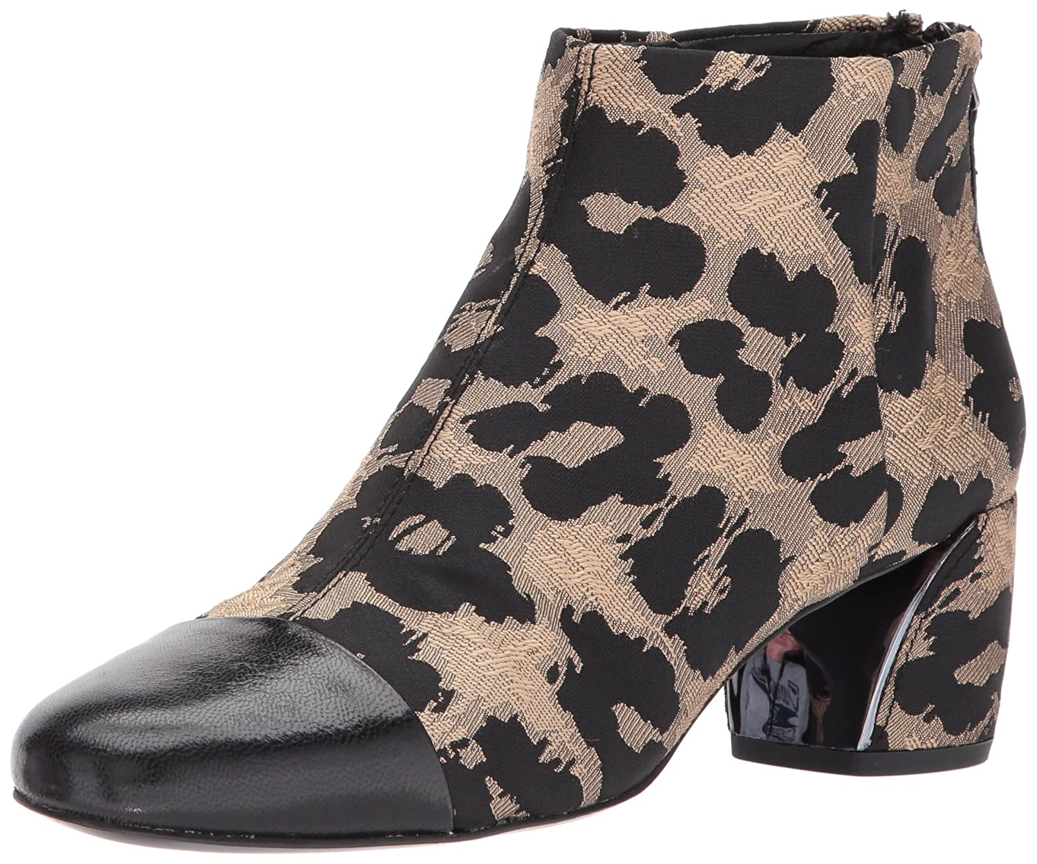 Nine West Women's Joannie Ankle Boot B01MUZYBEO 7 B(M) US|Natural Multi/Black