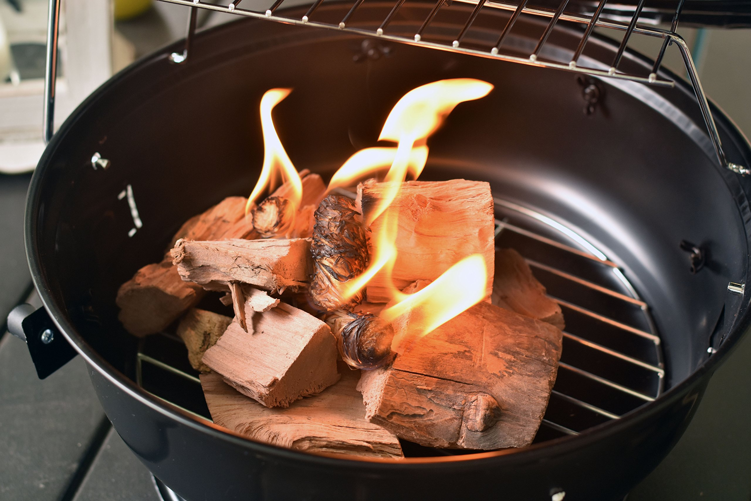 Fire and Charcoal Starters (50 Pieces) Perfect for Barbecue Grills, Big Green Egg, Kamados, Smokers, Wood Stove and Campfire by Zaboomi (Image #4)