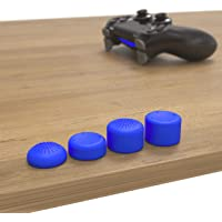 innoGadgets PS4 ve PS5 Controller ile uyumlu başlık | 8'li set silikon koruyucu kapak | daha fazla oyun hissi için…