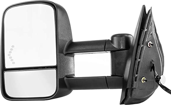 GM1321332 GM1320332 Right+Left Side New Mirrors Set of 2 Chevy Suburban Pair